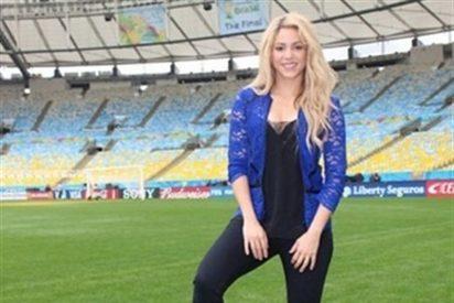 Shakira actuará en la clausura del Mundial de Brasil