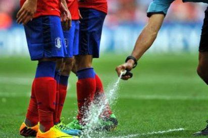 Habrá spray en la Liga BBVA y Liga Adelante la próxima temporada