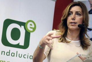"""Susana Díaz: """"Me gusta"""" el éxito de Podemos porque """"el voto del cabreo no ha ido a la extrema derecha"""""""