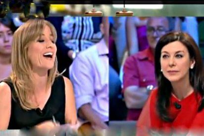 La progre Tania Sánchez y la pepera Arenales Serrano se lían a palos a cuenta de Pablo Iglesias