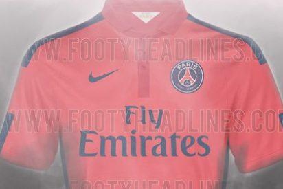 Así será la tercera camiseta del multimillonario PSG