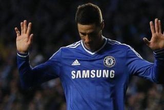 El Atlético negocia en Londres por Torres