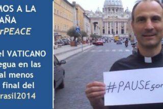 """El Vaticano pide """"una tregua por la paz"""" durante la final del Mundial"""