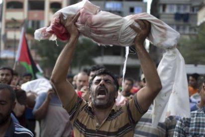 Palestinos usados como escudos humanos