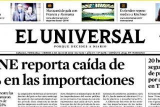 El grupo español Epalisticia compra 'El Universal', el diario más antiguo de Venezuela