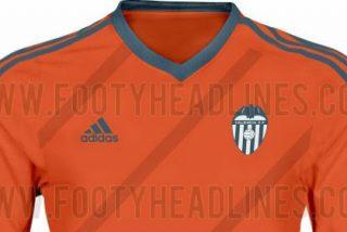 Así será la segunda camiseta del Valencia
