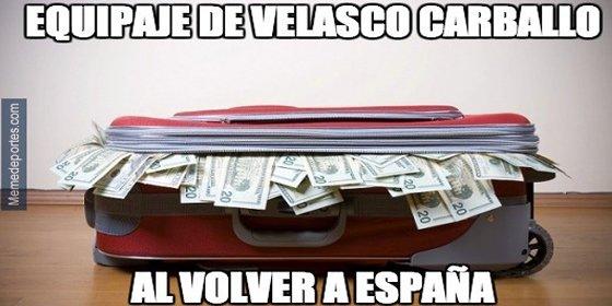 Twitter se llena de memes sobre la actuación arbitral de Velasco Carballo