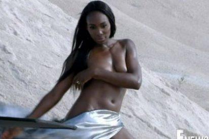 Así fue el desnudo de Venus Williams para una popular cadena de televisión