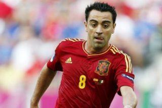 Xavi se ofrece para jugar con Villa