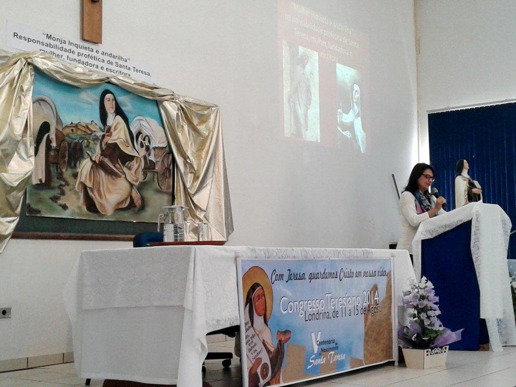 Celebrado congreso teresiano en Brasil