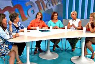 'Amigas y conocidas' (alias 'Maromos y cuernos'): la nueva tertulia de mujeres de TVE se desmadra