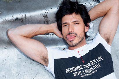 El modelo Andrés Velencoso apuesta por un desayuno mediterráneo para estar 'sano yguapo'