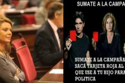 Sola ante el peligro: a la diputada Ana Aguiló le crecen los enanos...hasta en el PP
