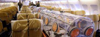 El avión con Miguel Pajares y la hermana Juliana ya está en España