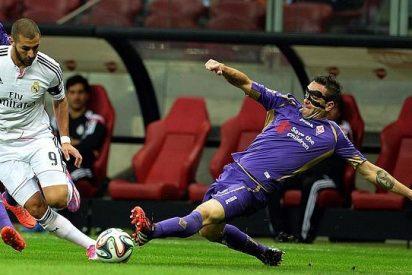 La defensa blanca es un coladero y condena al Real Madrid ante la Fiorentina