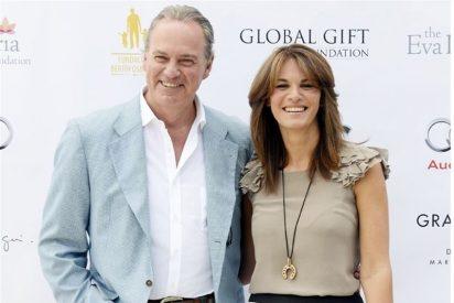 El siempre optimista Bertín Osborne y Fabiola Martínez triunfan en Marbella