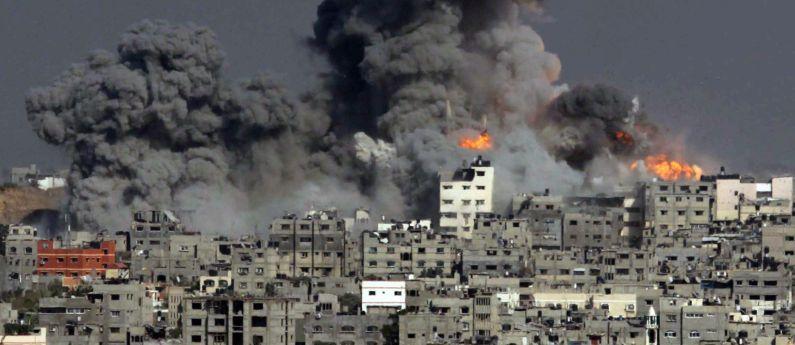 """""""Escucha, Israel, el grito de la sangre inocente de mujeres y niños"""""""
