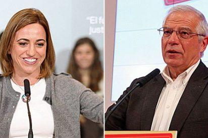 Carme Chacón y Josep Borrell se vuelcan con Sociedad Civil Catalana reforzando su 'transversalidad'