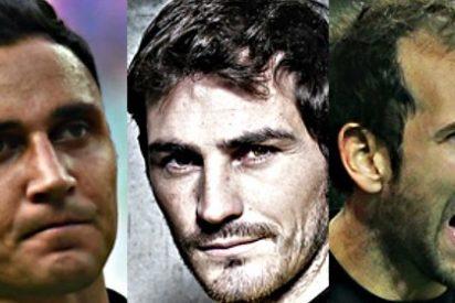 Iker-Keylor-Diego López: Se mascaba la tensión entre los tres porteros del Real Madrid en el primer entrenamiento