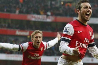 El Arsenal acerca a Cazorla al Atlético