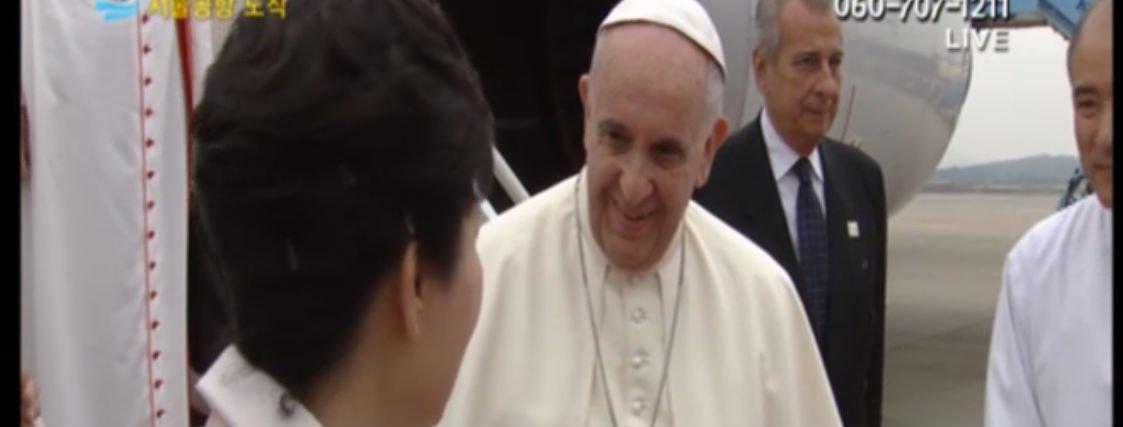 """Francisco ya está en Corea: """"Estoy muy contento de estar aquí, tan lejos y tan cerca"""""""