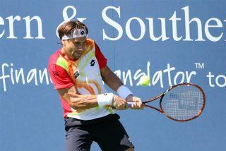 El guerrero David Ferrer arrolla al francés Benneteau y se mete en la final contra Federer