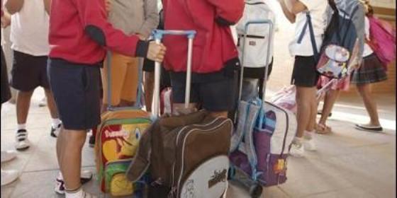 La cuesta de septiembre se hará mucho más pesada cargando la cartera de los hijos