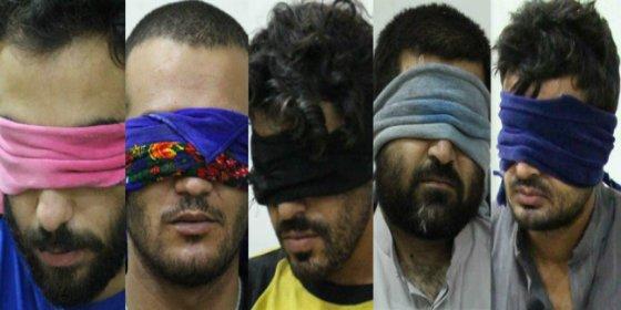 Los matarifes yihadistas del EI se ponen de drogas alucinógenas hasta la bandera