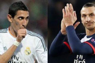 """Ibrahimovic critica la posible llegada de Di María al PSG: """"No sé si le necesitamos"""""""