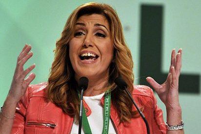 Susana Díaz, 'reina' del PSOE, manda un recadito al Tribunal Supremo para defender a sus 'padrinos'