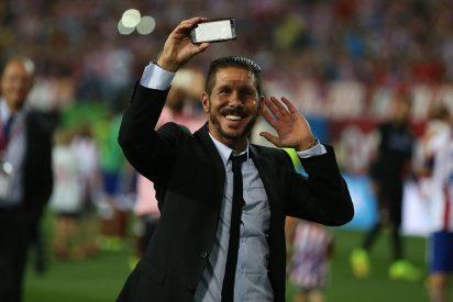 Simeone le roba la merienda a Ancelotti y hace al Atlético de Madrid 'Supercampeón de España'