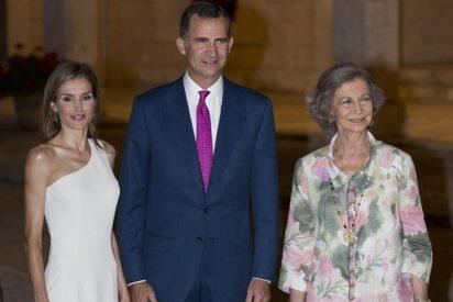 La anécdota 'arcoíris' y otros chascarrillos de la recepción de los Reyes en Palma