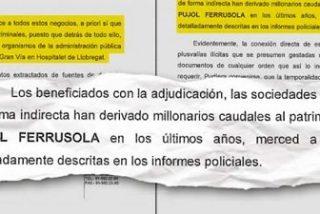 """Los policías de la UDEF aseguran que FCC ha derivado """"caudales millonarios"""" al hijo de Pujol"""