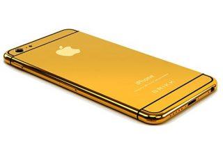 Si eres presumido y te sobra la pasta puedes tener un iPhone 6 con oro y diamantes por 6.500 euros