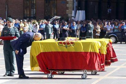 Funeral en León por los tres guardias civiles muertos en rescate