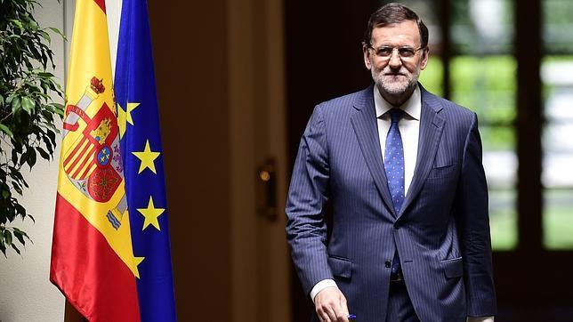 El tímido Mariano Rajoy, a escena