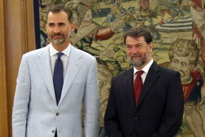 El Rey Felipe VI recibe en audiencia a Pedro Luis Alonso Fernández