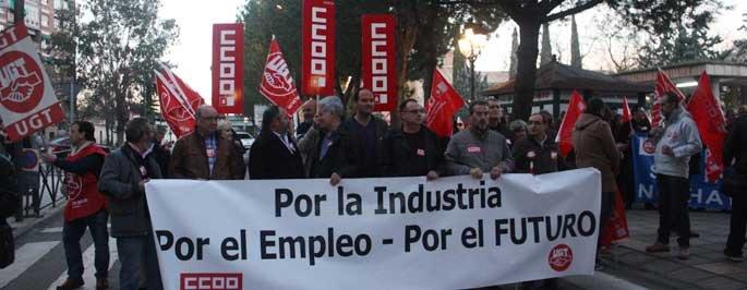 Algora apoya a los trabajadores de Elcogás