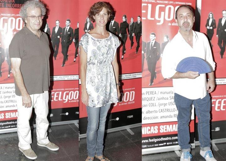 Famosos arropan a Manuela Velasco y Fran Perea en el estreno de Feelgood