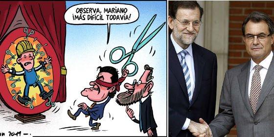 Artur Mas reduce 1.586 millones a la Sanidad de Cataluña y da 400 a la consulta independentista