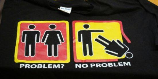 MÉS denuncia que una discoteca del Arenal hace apología de la violencia machista...¡con unas camisetas!