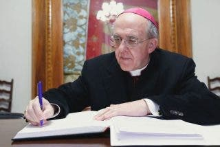 "El obispo Carlos Osoro, el ""peregrino que llega a Madrid"