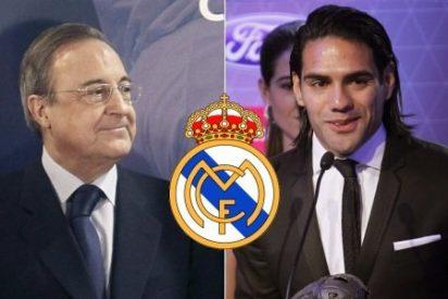 El Real Madrid de Florentino reactiva la operación 'Tigre' Falcao y maniobra a toda prisa