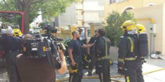 Incendio en el hotel Tryp Bosque: 300 evacuados al arder un almacén de 50 metros