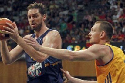 Deslucida victoria de España sobre Ucrania en el penúltimo partido de preparación de la Copa del Mundo de Baloncesto