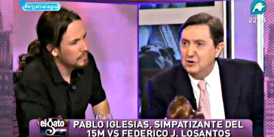 El 'ojo clínico' y el gran olfato de los linces de IntereconomíaTV que descubrieron a Pablo Iglesias