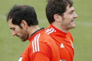 """El """"tú te vas"""" del Real Madrid a Diego López y el """"tú te quedas"""" a Casillas"""