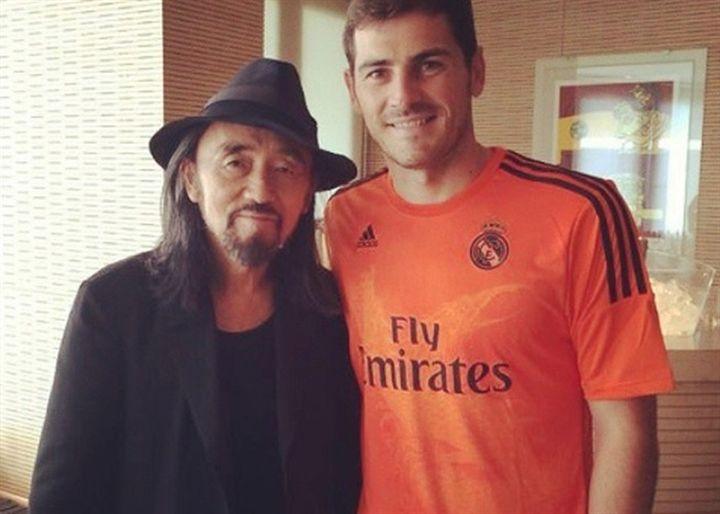 Iker Casillas y la sorprendente equipación del Real Madrid