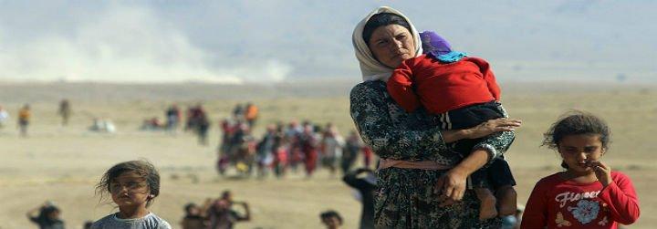 El Papa donó un millón de dólares para los refugiados de Irak