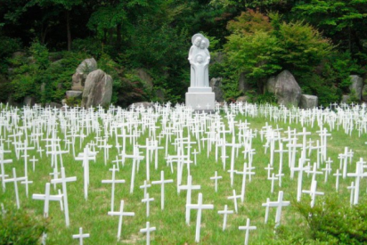 """Papa rezará en el """"jardín de los niños abortados"""""""